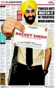 Rocket Singh Salesman of the Year Movie poster